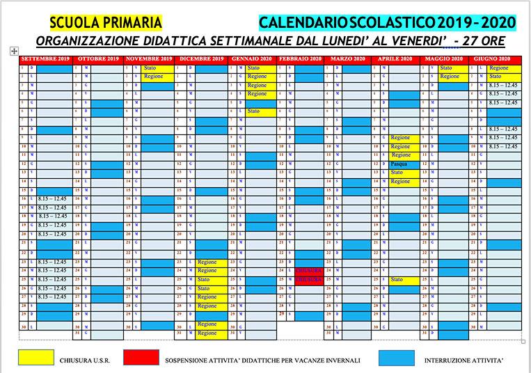Calendario Scolastico Torino.Approvato Il Nuovo Calendario Scolastico 2019 2020 Nobel